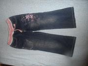 Удобные джинсы для девочки