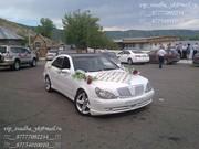 Усть-Каменногорск VIP-авто услуги на Мерседесе S-класса белого цвета.