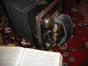 Гормошка и книга со времен отечественной войны