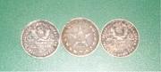 Серебренные монеты 1924 и 1922 г